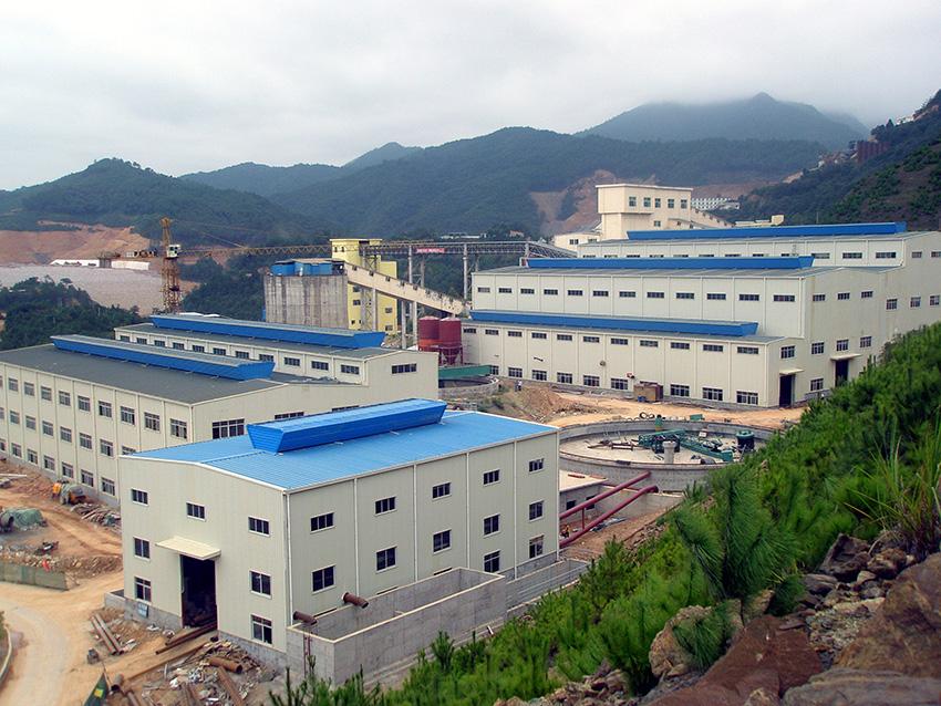 紫金矿业新一轮技改工程